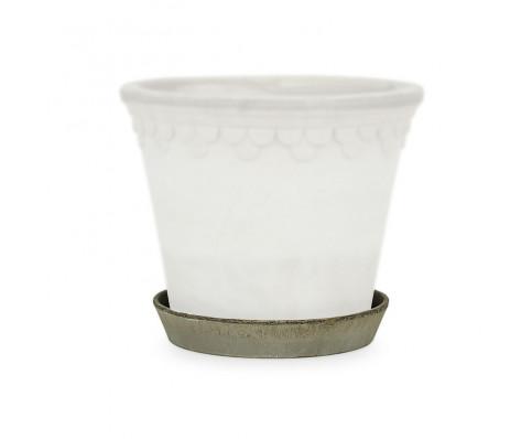 Løs underskål i grå terracotta