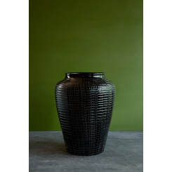Bergs potter glaseret vase willow sort