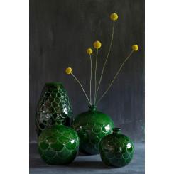Misty Green Emerald vase
