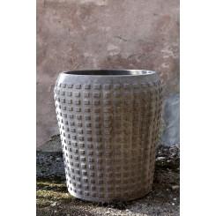 Eksklusiv, håndlavet krukke fra Toscana, Italien i den smukkeste grå farve.